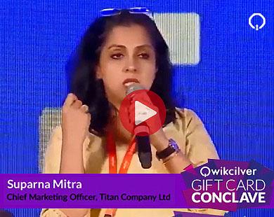 Ms. Suparna Mitra, Titan Company Ltd at the QCGC17