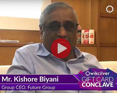 Mr.Kishore Biyani, Group CEO, Future Group