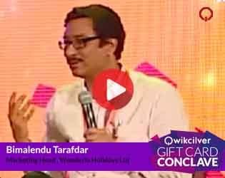 Mr. Bimalendu Tarafdar, Wonderla Holidays Ltd at the QCGC17