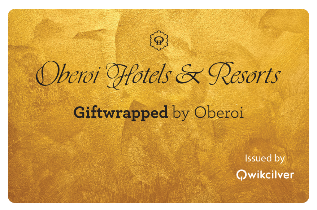 Giftwrapped by Oberoi - Qwikcilver Gift Card